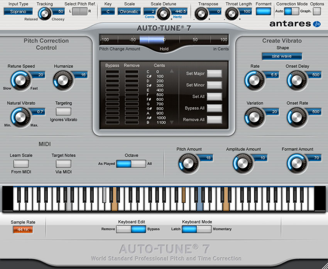 Antares Autotune VST screenshot 1
