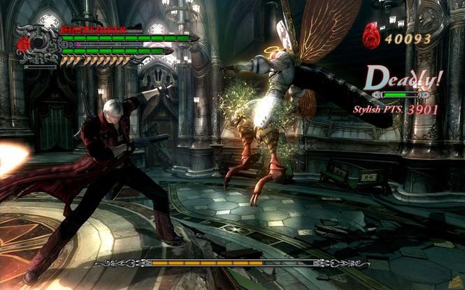 Devil May Cry 4 screenshot 1