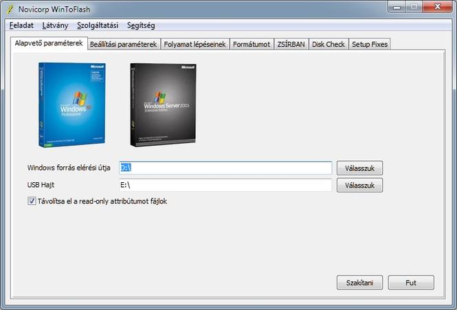 WinToFlash screenshot 3