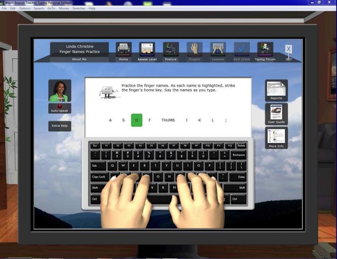 Mavis Beacon Teaches Typing Deluxe screenshot 1