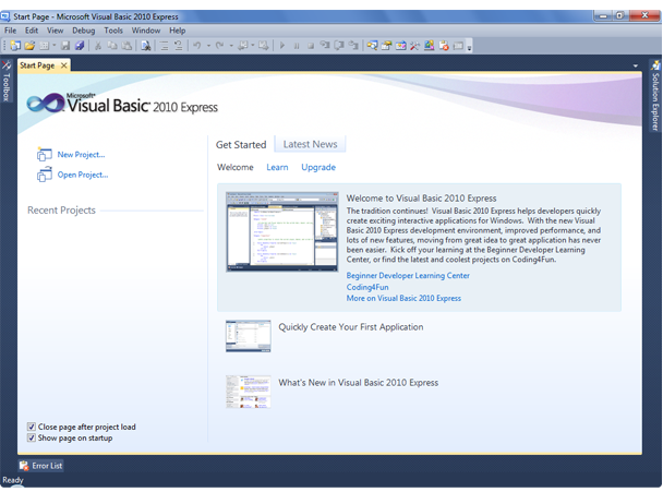 Download visual basic 2010 express | review softchamp. Com.