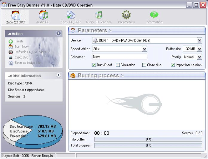 Free easy cd dvd burner free download for windows 10, 7, 8/8. 1 (64.