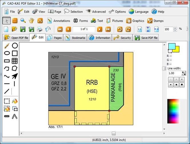 Download CAD KAS PDF Editor 4.0 | review SoftChamp.com