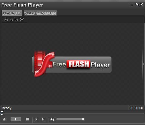 Free Flash Player (FLV Player) screenshot 1