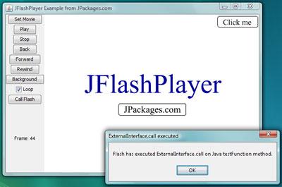Java Flash Player - JFlashPlayer screenshot 1