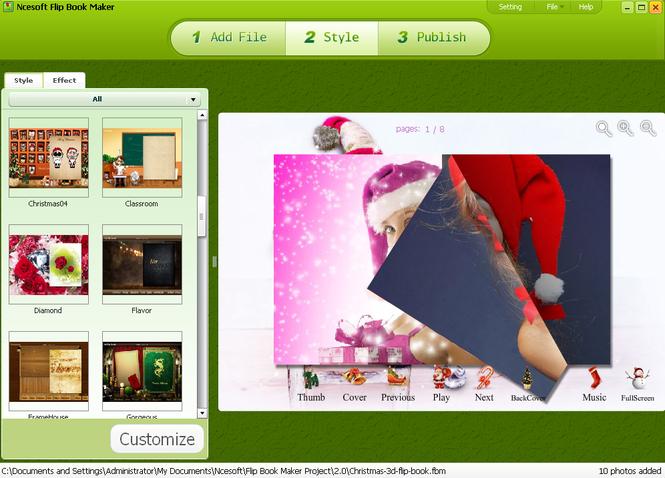 Flip Book Maker screenshot 1