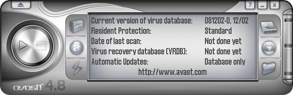avast! Pro Antivirus screenshot 1