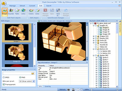 SWF Editor screenshot 1