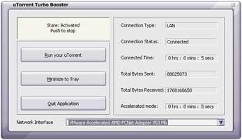 Turbo Booster for uTorrent screenshot 1
