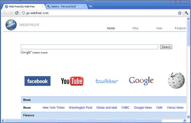 Web Freer screenshot 3