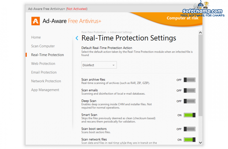 Ad Aware Free Antivirus Real Time Protection