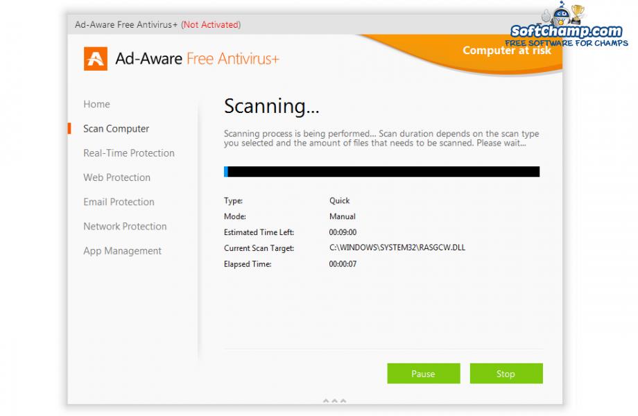 Ad Aware Free Antivirus Scanning