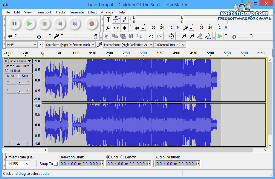 Audacity Soundwave