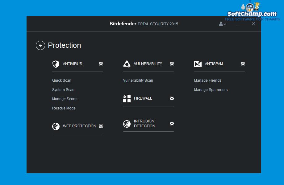 Bitdefender Total Security Proteciton Features