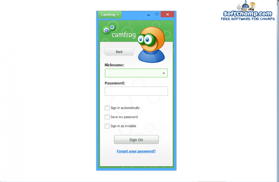 Camfrog Video Chat Login