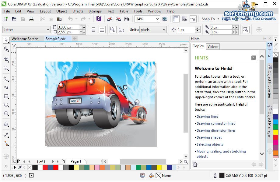 CorelDRAW Graphics Suite Vector illustration