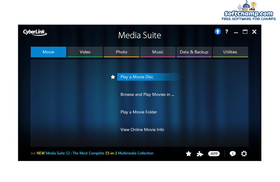 CyberLink Media Suite Movie