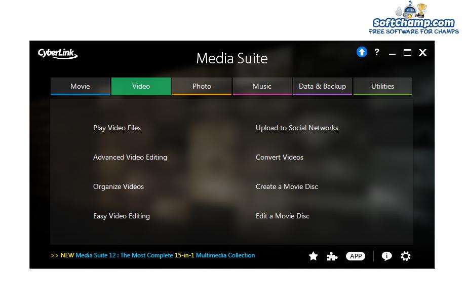 CyberLink Media Suite Video