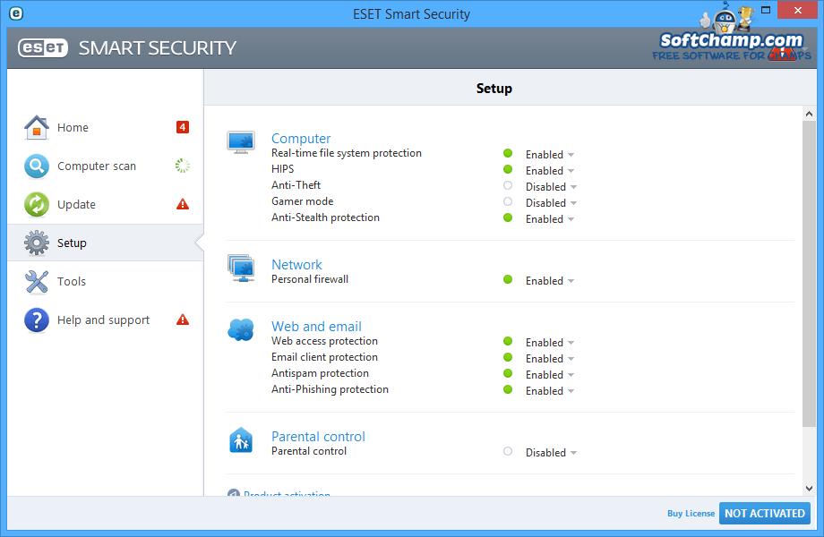 ESET Smart Security Setup