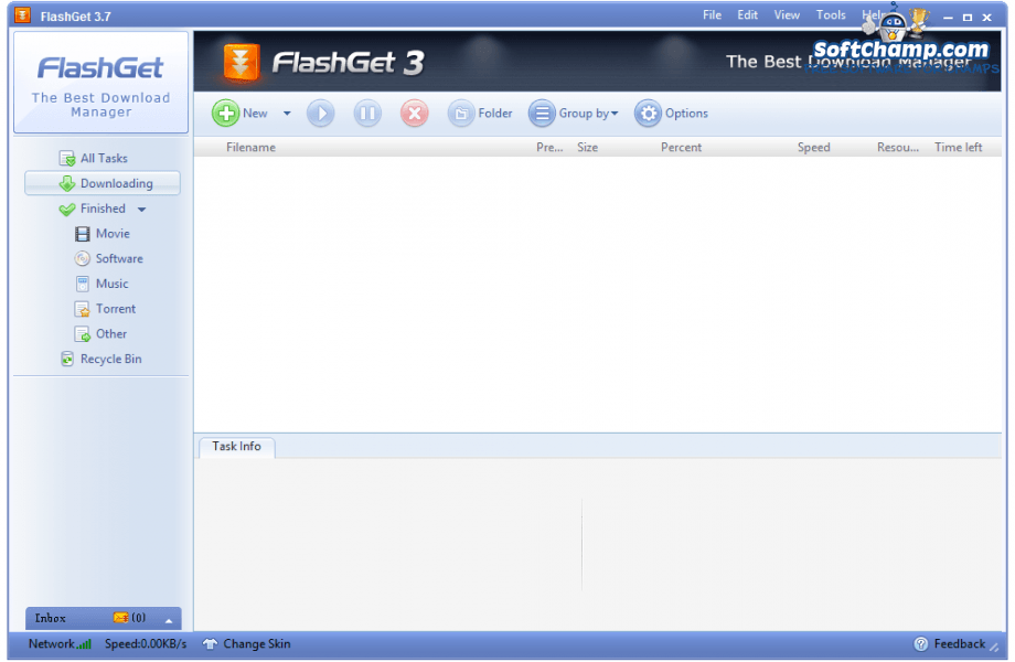 FlashGet Downloading