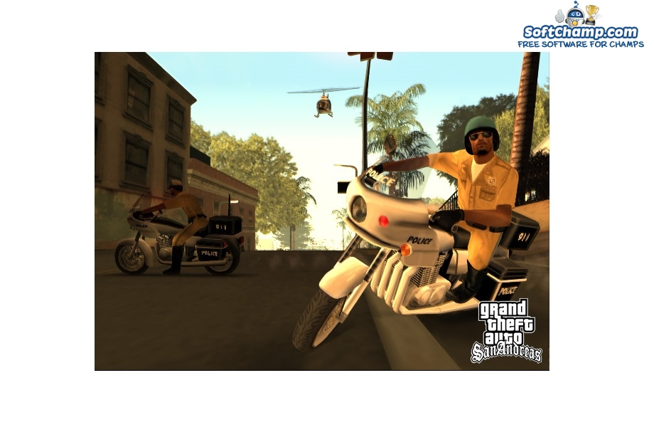 GTA San Andreas Police Officers