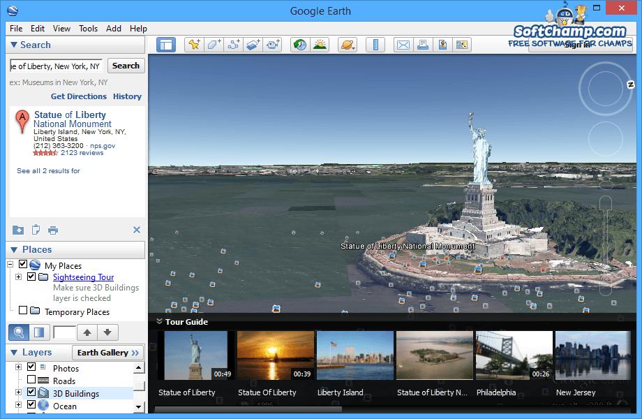 Google Earth 3D Buildings