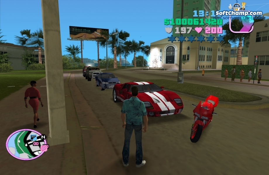 Game trainers: grand theft auto: vice city (ultimate trainer.