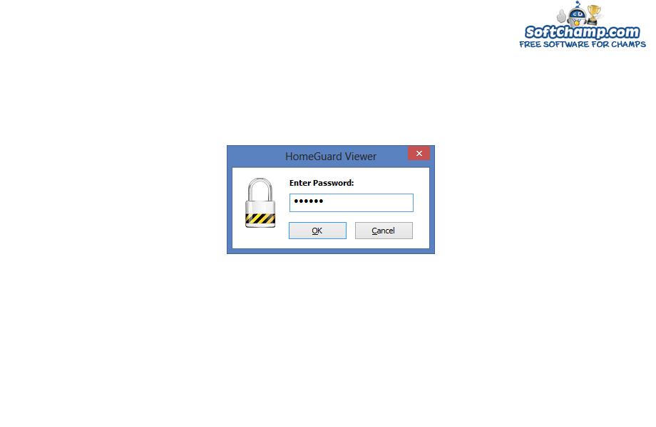 HomeGuard Viewer Password