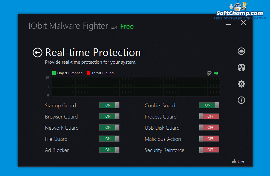 IObit Malware Fighter Real Time Protection