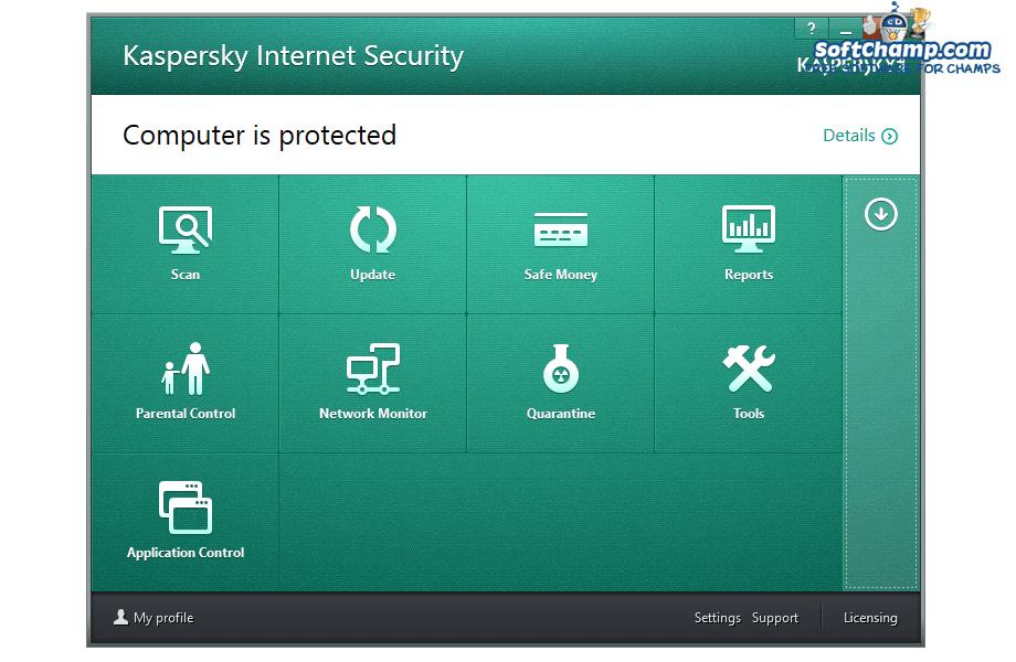 Kaspersky Internet Security Security Utilities