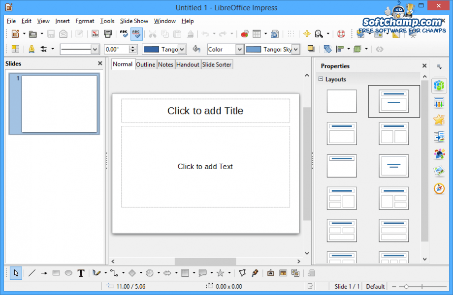 LibreOffice Impress Presentations