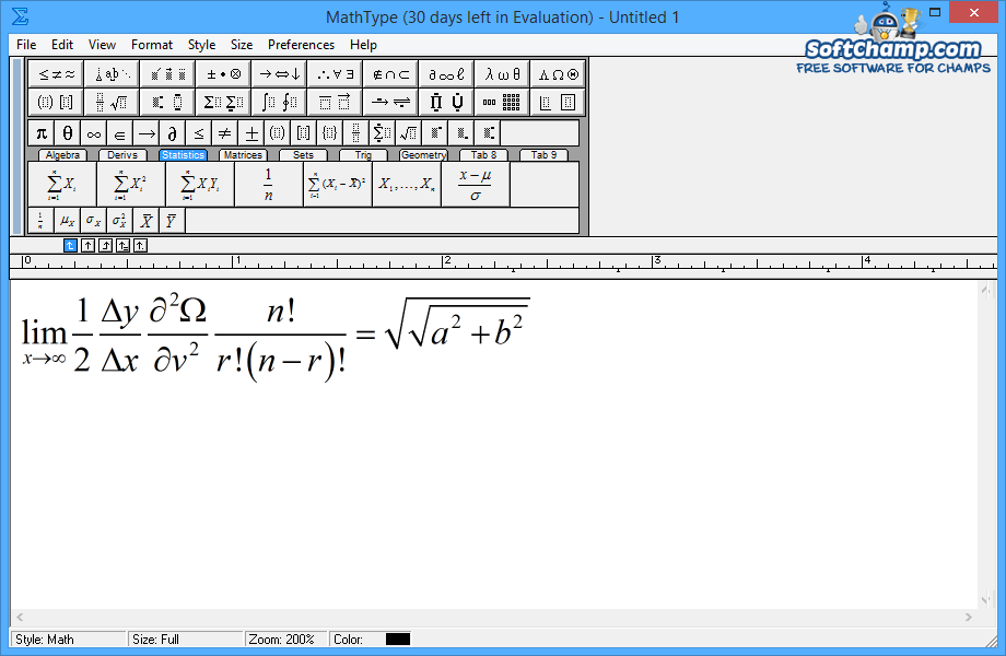 MathType Equation