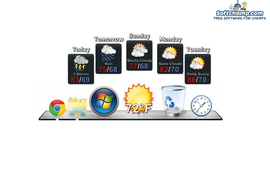 ObjectDock Weather Forecast