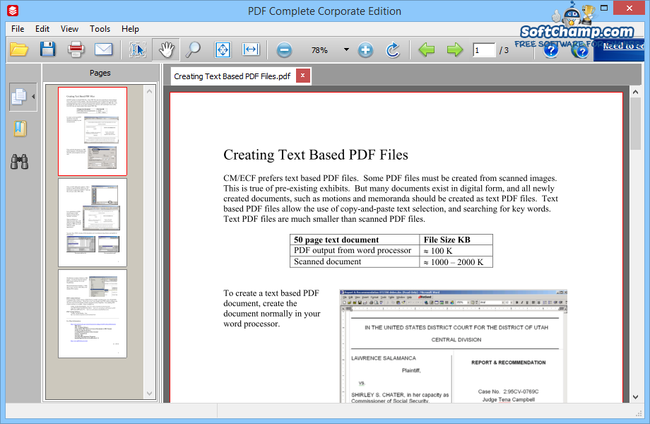 PDF Complete View Pages