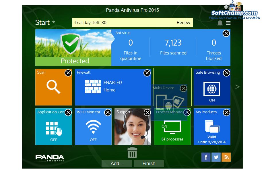 Panda Antivirus Pro Edit Utilities
