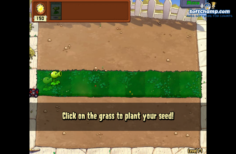 Plants vs Zombies Plant your seed
