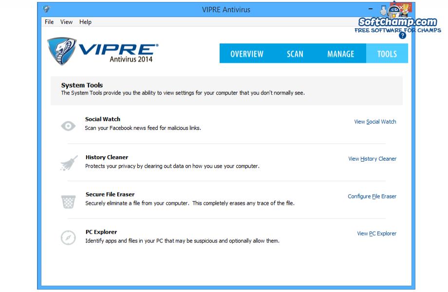 VIPRE Antivirus Tools