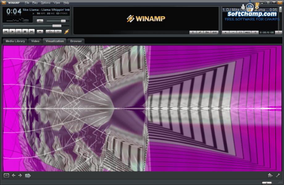 Winamp Visualization