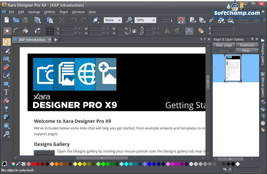Xara Designer Pro Introduction