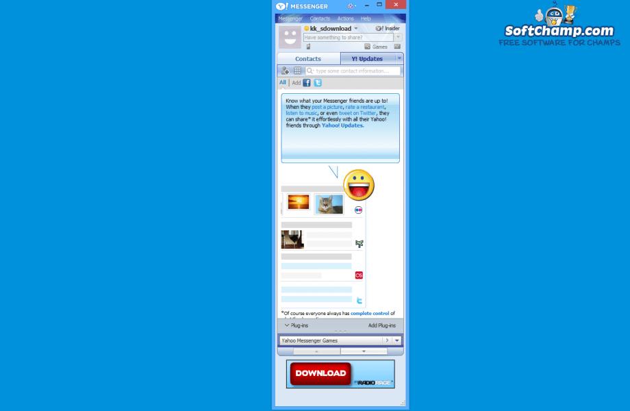 Yahoo Messenger Y Updates
