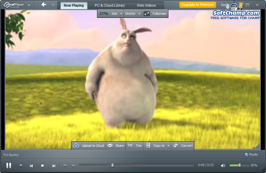 realPlayer Cloud Video Playback